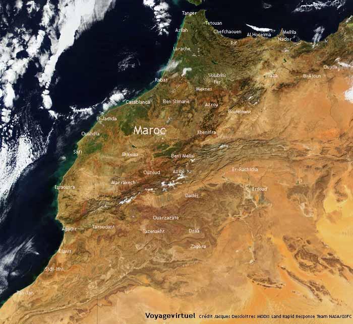Carte Satellite Bali.Www Mappi Net Maps Of Countries Morocco