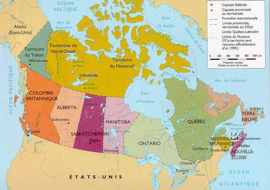 Carte Canada Region.Www Mappi Net Maps Of Countries Canada