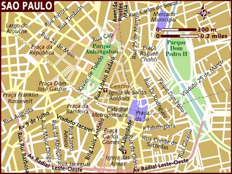 wwwMappinet Maps of cities So Paulo