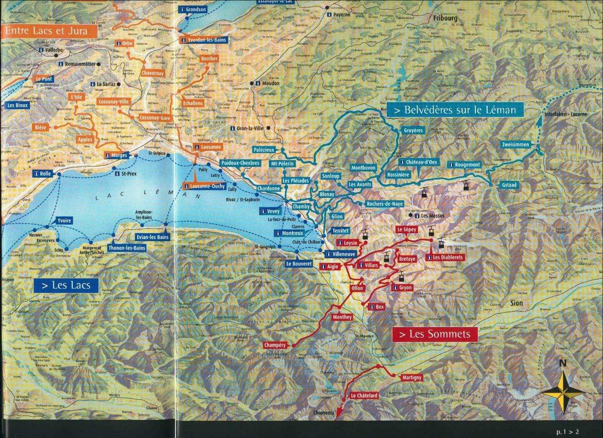 www.Mappi.net : Maps of countries : Switzerland : page 1