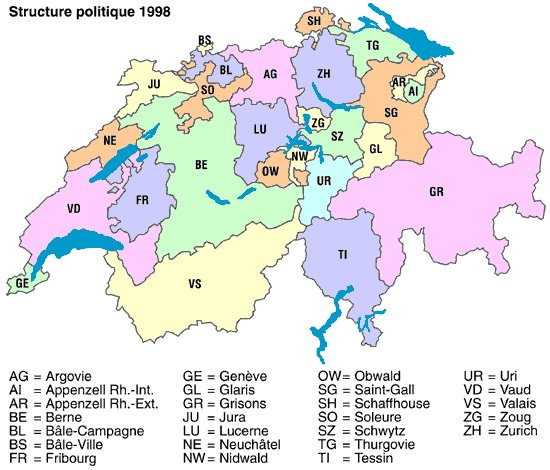 wwwMappinet Maps of countries Switzerland page 2
