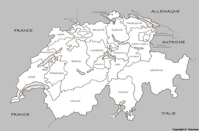 Mappi maps of countries switzerland page 2 blank map of switzerland without cities gumiabroncs Gallery