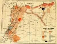 Map of Syria's population.