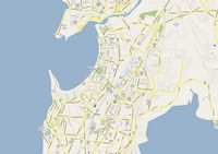 Large map of Bombay (Mumbai) parks, lakes and information around the city and its suburbs.