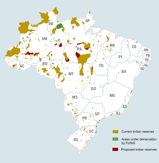 wwwMappinet Maps of countries Brazil