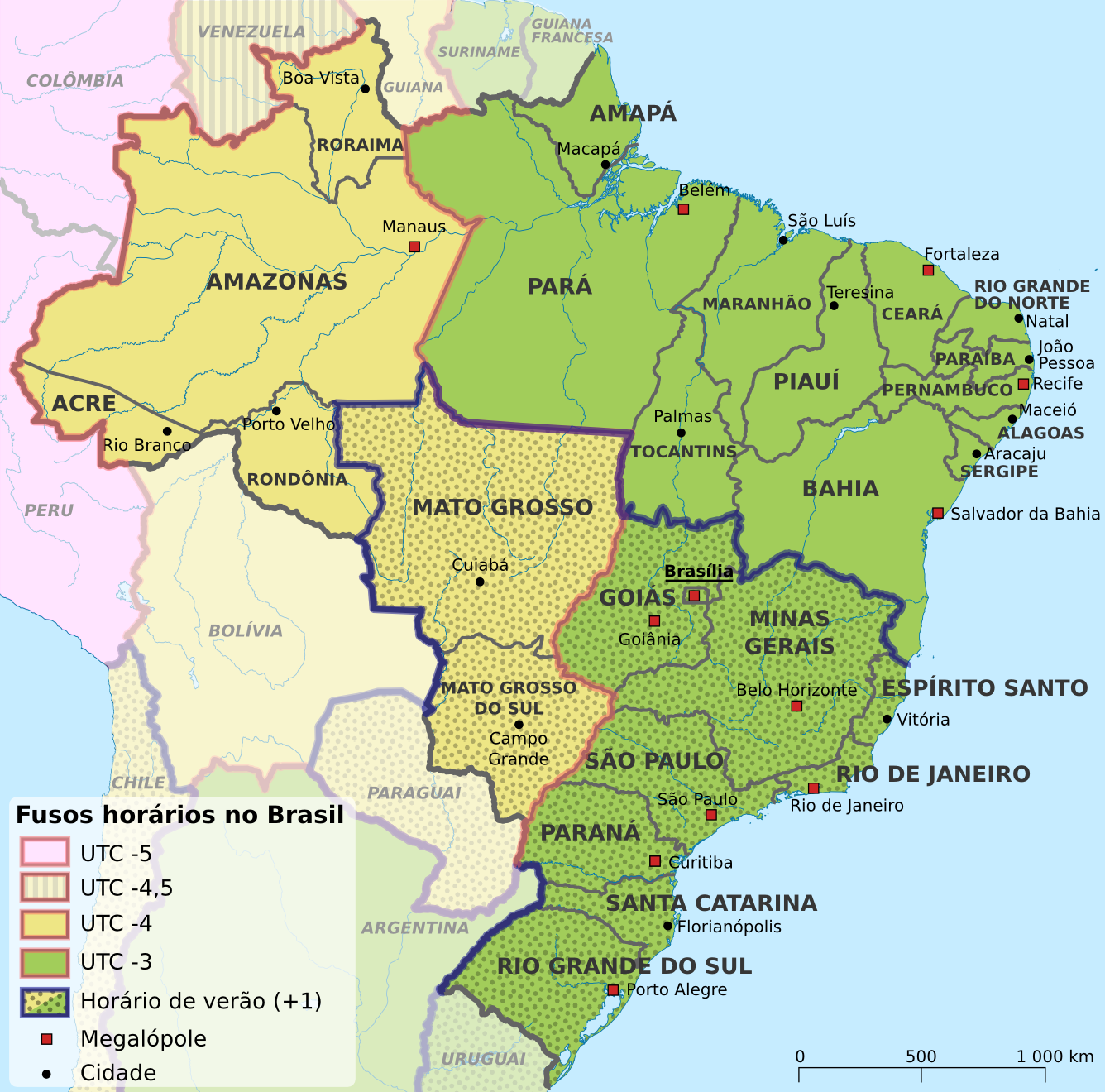 www.Mappi.net : Maps of countries : Brazil