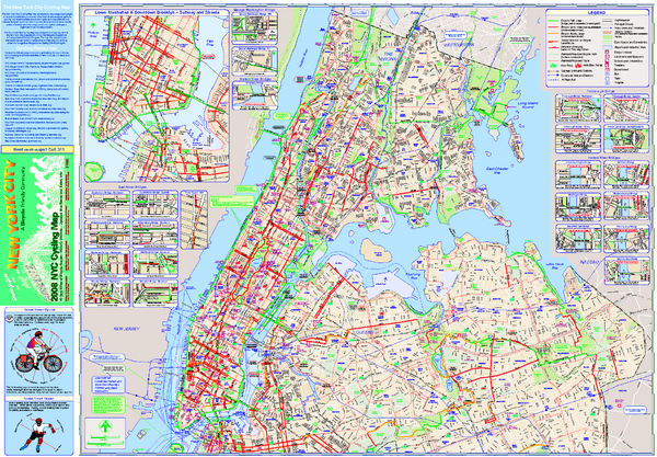 New York City Street Map Pdf: Map Of New York City Streets At Slyspyder.com
