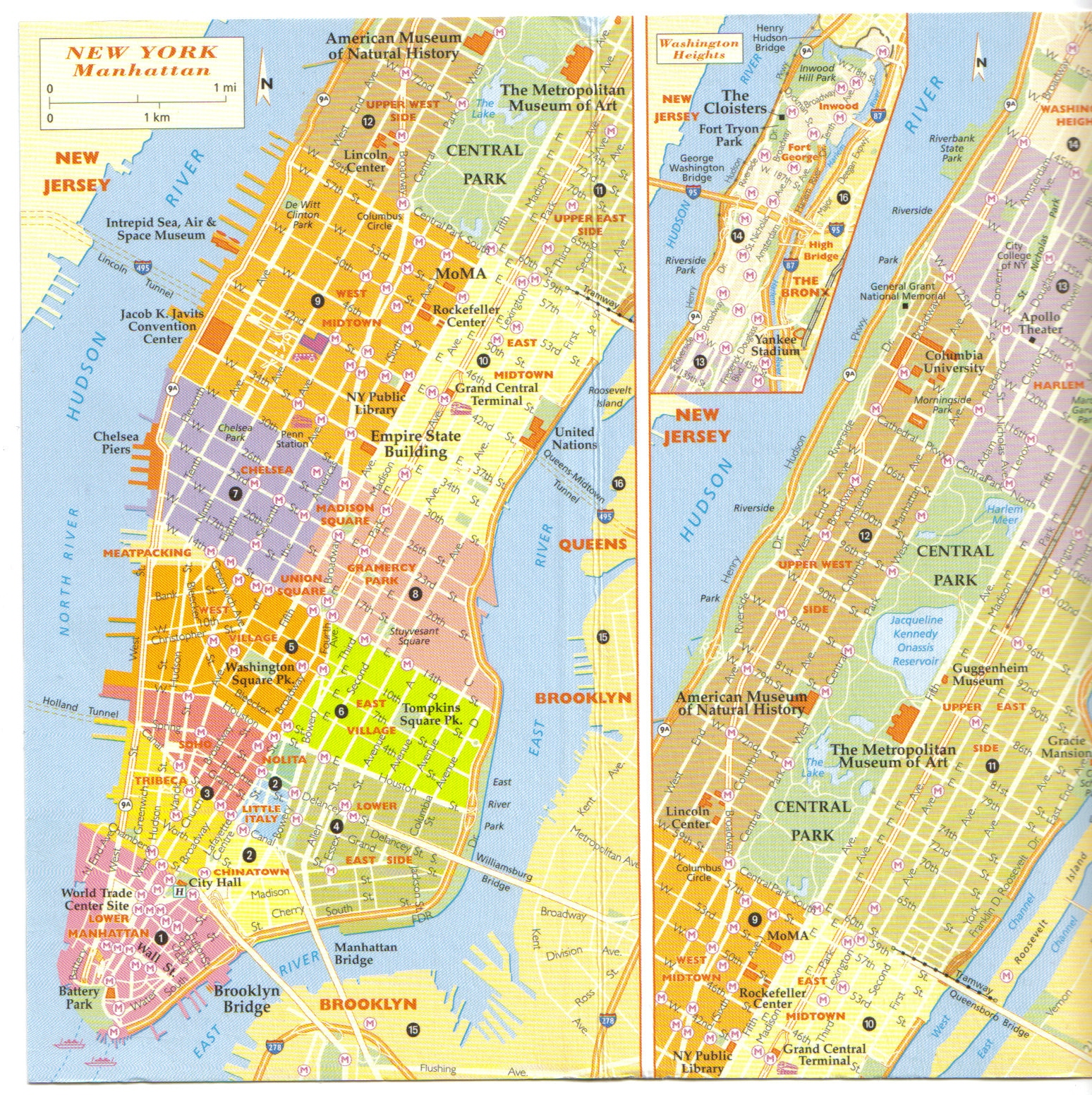 maps of cities new york city. Black Bedroom Furniture Sets. Home Design Ideas