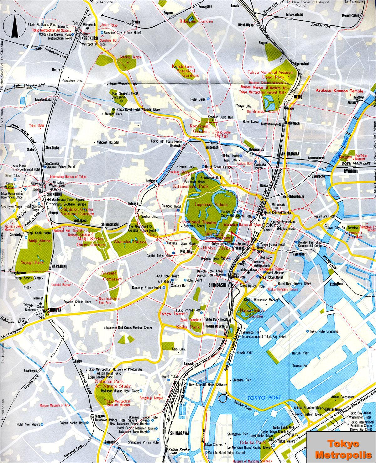 www.Mappi.net : Maps of cities : Tokyo