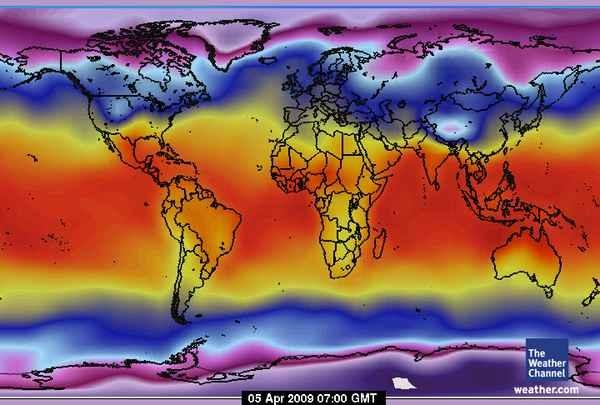 .Mappi.: World Maps : Meteorological maps